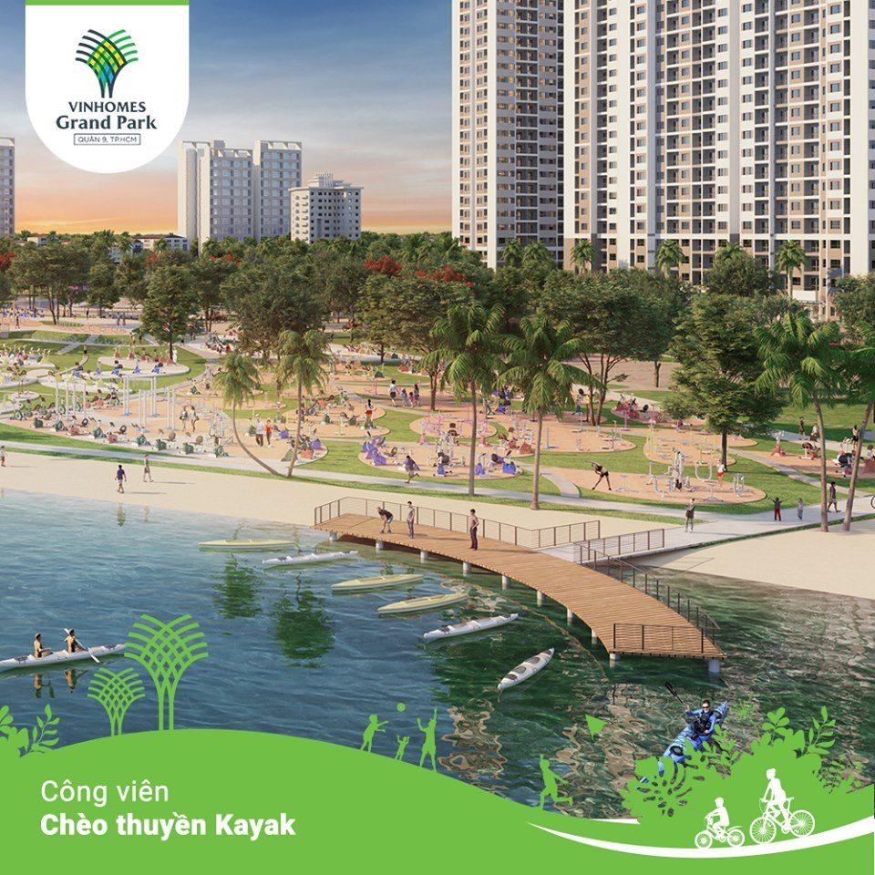 Công viên chèo thuyền Kayak